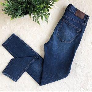 Madewell high riser skinny skinny jeans 27